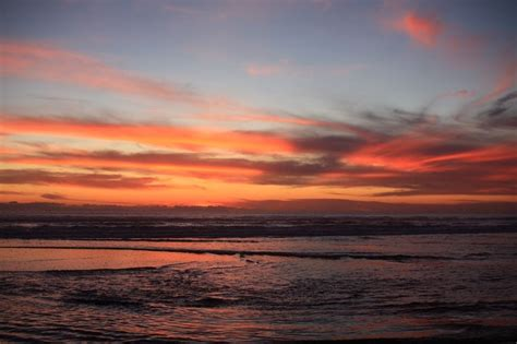 photo sunset beach california ocean  image