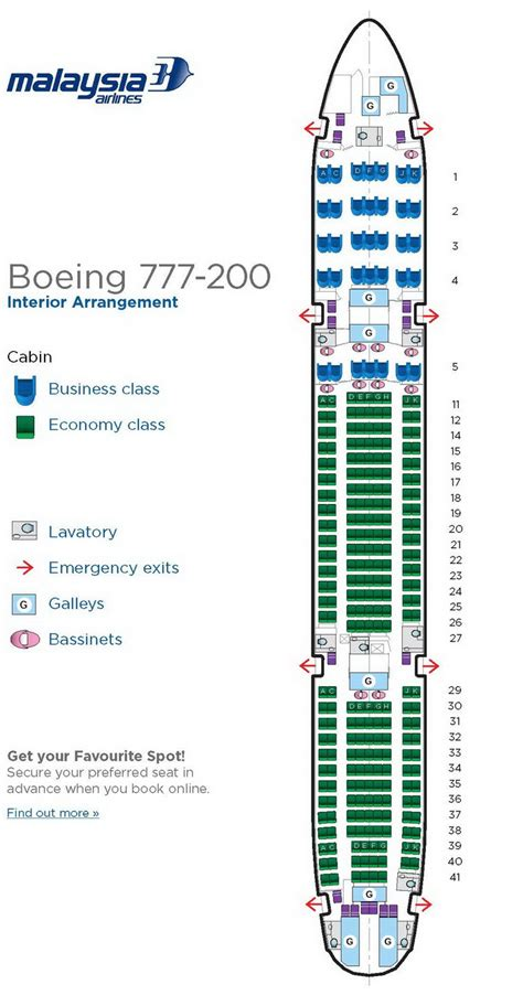 seating chart boeing 777 boeing 777 200 seating plan