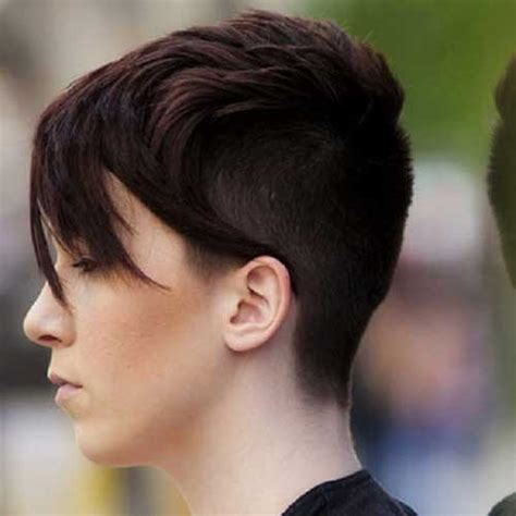 shaved hairstyles with long bangs pixie haircut with long bangs the best short hairstyles