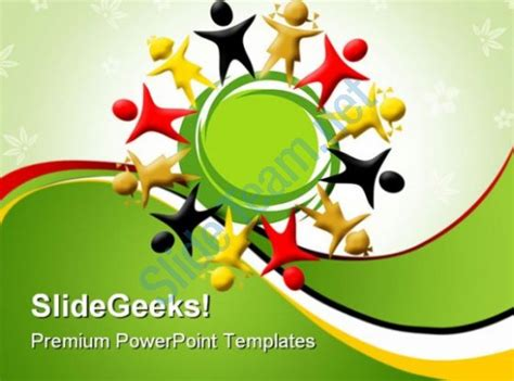 Diversity Global Powerpoint Templates And Powerpoint Backgrounds 0411 Templates Powerpoint Diversity Powerpoint Templates Free