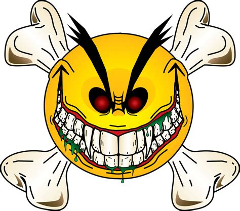 evil smiley tattoo deviantart more like smiley s evil grin by evilgrinn73
