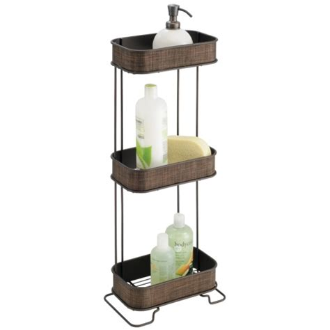 oil rubbed bronze bathtub caddy three tier bath caddy bronze in shower caddies