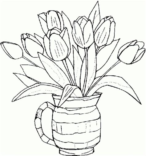Sketches To Color by Flower Drawings To Print Flower Page Printable Coloring