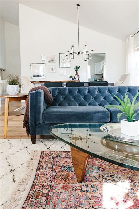 blue sofa living room best 25 blue couches ideas on navy
