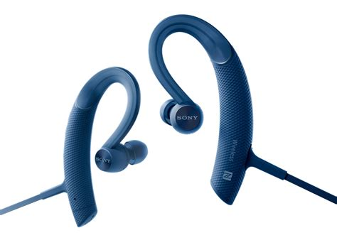Earphone Wireless Sony sony mdr xb80bs wireless sports bluetooth in ear headphones ebay