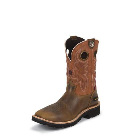 tony lama work boots tony lama comanche 3r work boots rr3300 composite