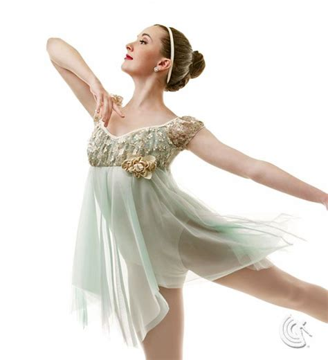 curtain call dance costumes curtain call costumes 174 petals mint nylon spandex leotard