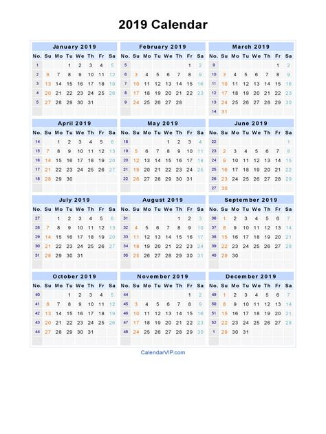 2019 Calendar Word 2018 Calendar With Holidays 2019 Calendar Template Word