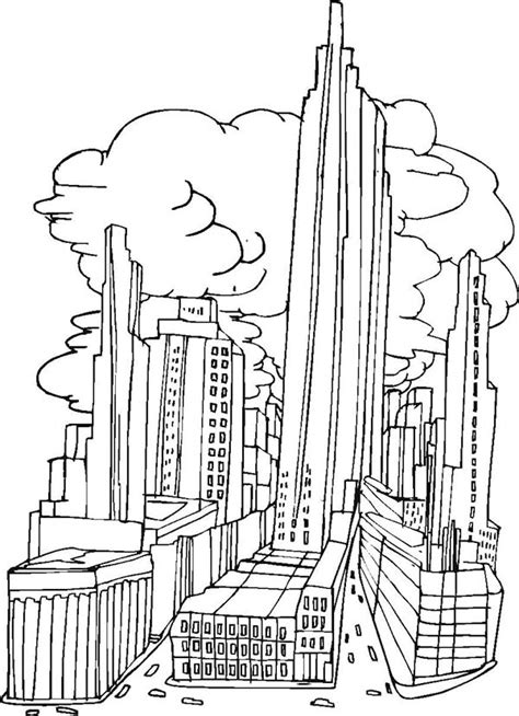 new york city coloring pages fablesfromthefriends com