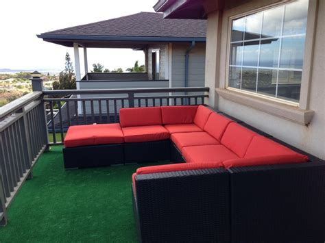 ohana patio furniture ohana wicker furniture outdoor patio furniture seating set ohana depot customer photos