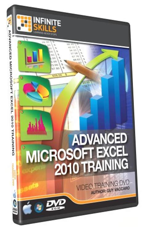 Advanced Excel 2010 Training Dvd Tutorial Video | best deal microsoft office 2011 advanced excel 2010