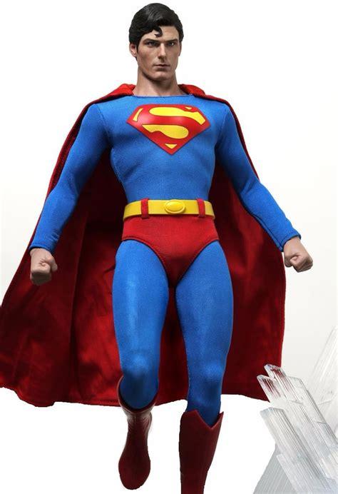christopher reeve hot toys christopher reeve hot toys superman 1978 super homem 1 6