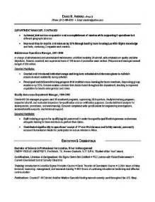 resume examples for military experience 1
