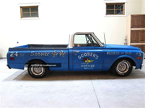 1972 chevy bed v 8 a c p s p b rod