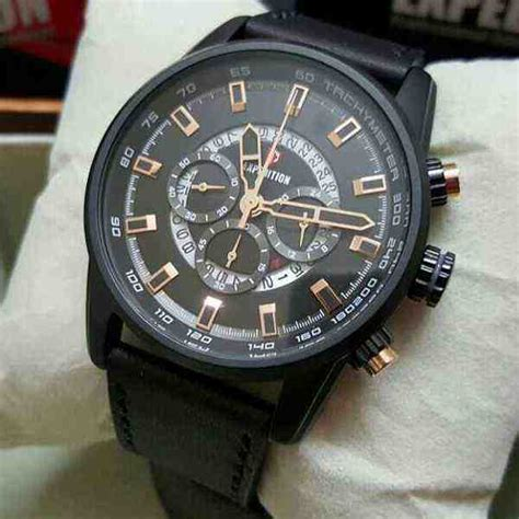Jam Expedition E 6696b Gold Original jual expedition 6690 black steel baru jam tangan terbaru murah lengkap murahgrosir
