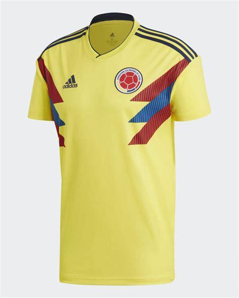 camiseta adidas de colombia mundial 2018 marca de gol