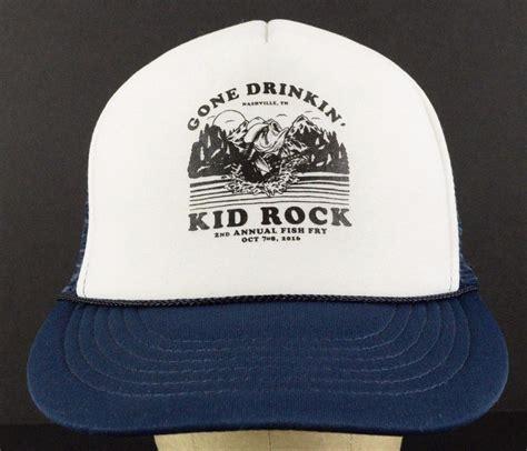 Topi Snap Back Kidd Rock kid rock drinkin 2nd fish fry mesh trucker
