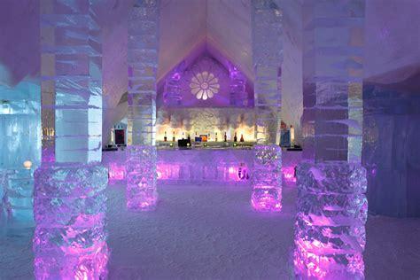 hotel de glace canada hotel de glace luxuo