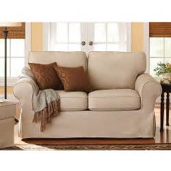 Sofa Seat Covers Walmart Better Homes And Gardens Slip Cover Loveseat