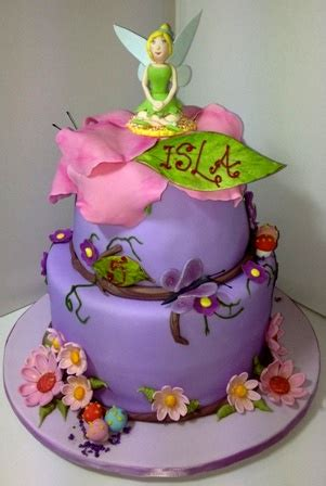 tinkerbell 5th birthday cake sweetpea designer cakes