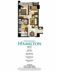 2 Bedroom Condo Floor Plan Greenbelt Hamilton Greenbelt Hamilton 2 Bedroom Unit
