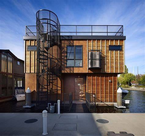 floating houses amazing home floating homes lake union float home