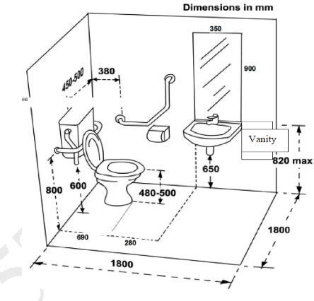 typical bathroom dimensions standard width toilet room google search ada standards