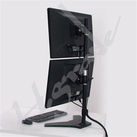 Monitor Lcd Vertical dual lcd monitor stand vertical with vesa 200 x100 ts042 highgrade tech co ltd