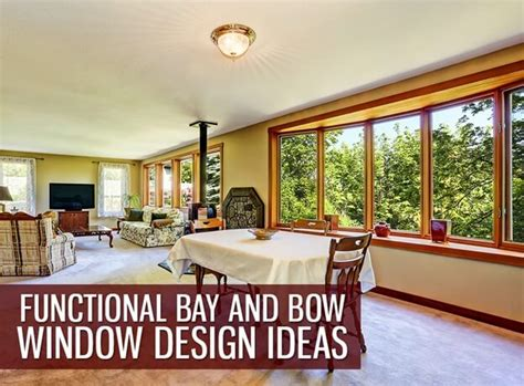 bow window ideas functional bay and bow window design ideas