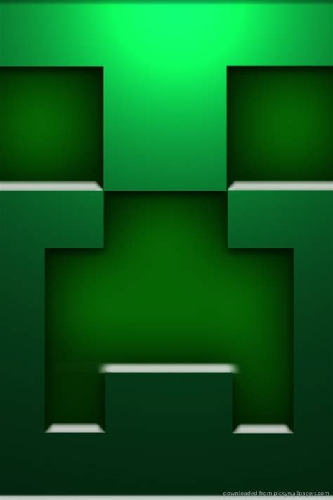 wallpaper craft download download minecraft creeper face wallpaper for iphone 4