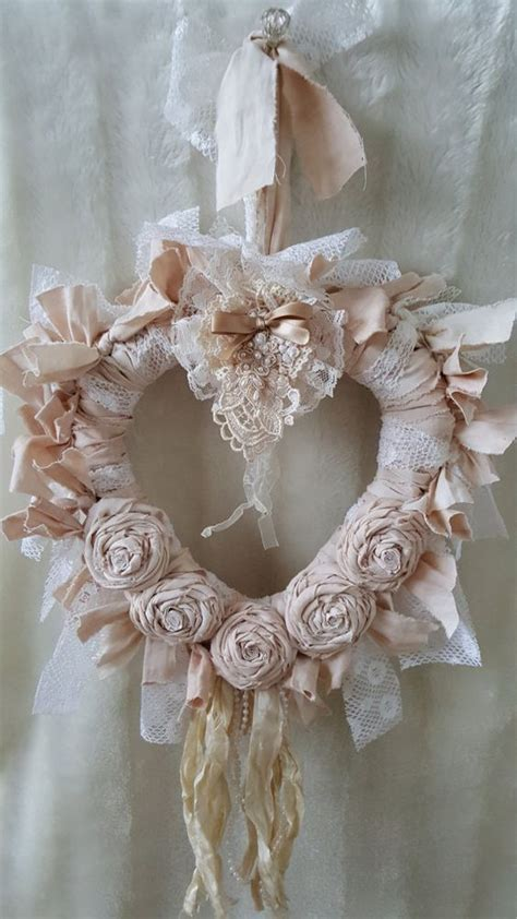shabby chic wreaths 17 best ideas about shabby chic wreath on shabby chic gifts vintage lace crafts and