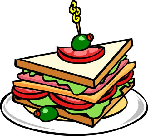 food clipart food sandwhich clip at clker vector clip