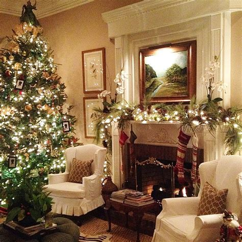decorated homes pictures traditional holiday decorating ideas popsugar home