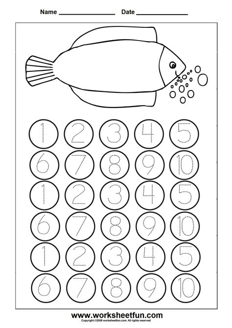 Number 1 Coloring Pages For Preschoolers by Best Photos Of Preschool Number 10 Preschool Number 10