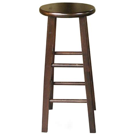 wooden 30 quot top bar stool dcg stores