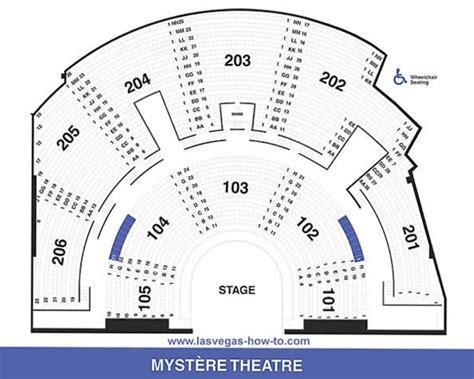 cirque du soleil o seating chart pdf mystere las vegas cirque du soleil mystere mystere at