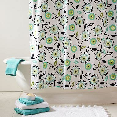pottery barn teen shower curtain 17 best images about shower curtain on pinterest cotton