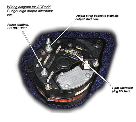 lucas a127 alternator wiring diagram bosch alternator