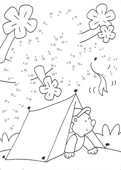 printable connect the dot games cing connect the dots game coloring pages hellokids com