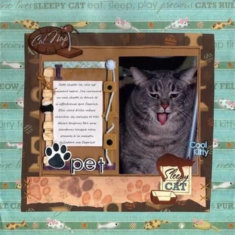 scrapbook layout cat scrapbook layout cat scrapbook stuff pinterest cats