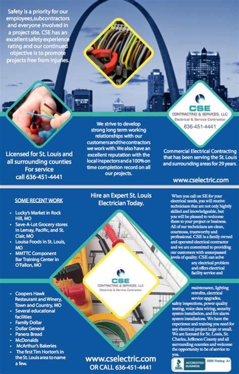 design concepts expert contractors professional elegant brochure design by d4 design