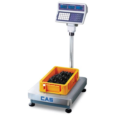 cas ecb counting floor scale industrial weighing floor scale
