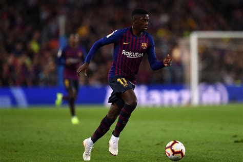 ousmane dembele odds ousmane demb 233 l 233 disappoints as lionel messi is injured
