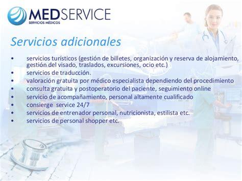 Dieta Detox Español by Medservice Servicios M 233 Dicos En Espa 241 A Turismo M 233 Dico
