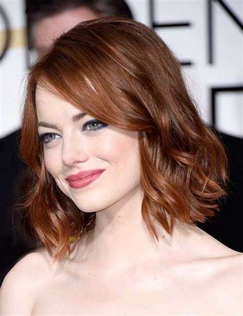 picture of haircut that is shoulder length with bangs and color brown 25 short medium length haircuts short hairstyles 2017