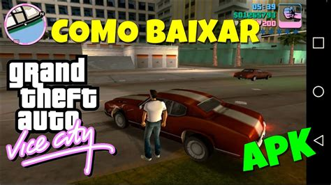 gta apk obb gta vice city sem extrair apk e obb android