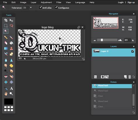 membuat game tanpa software cara membuat logo transparan tanpa software apapun dukuntrik