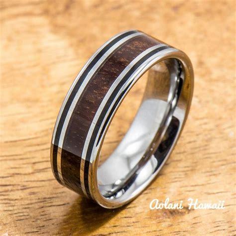 Wedding Bands Hawaii by Tungsten Carbide Wedding Bands Aolani Hawaii