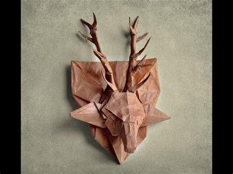 Origami Deer Diagram - origami deer