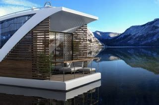 floating hotel with catamaran apartments by salt water superyachts luxury floating hotel with private catamaran